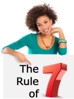 Marketing Rule of Seven