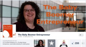 The Baby Boomer Entrepreneur Facebook Timeline Cover
