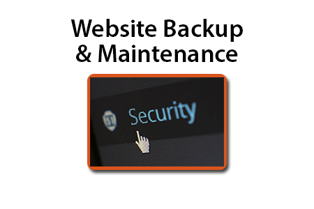 Website backup and maintenance services