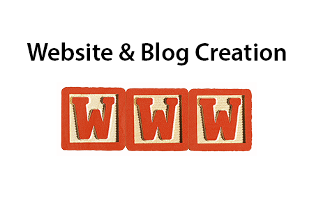 website and blog creation