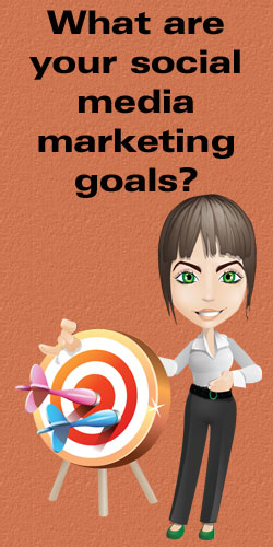 What are your social media marketing goals?