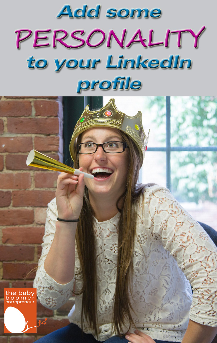 Add some personality to your LinkedIn profile by adding multimedia.