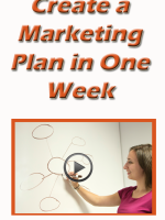 Create a marketing plan in one week