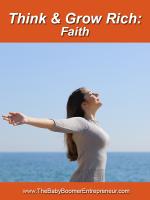 Think and Grow Rich: Faith