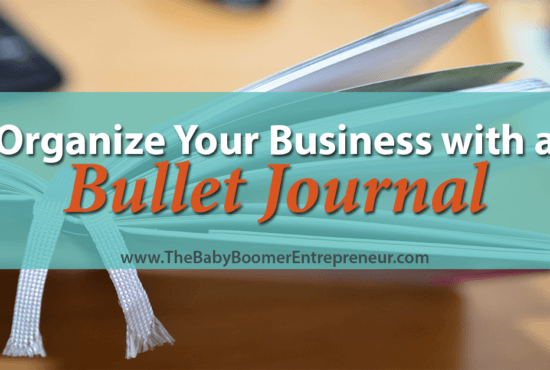Organize Your Business with a Bullet Journal