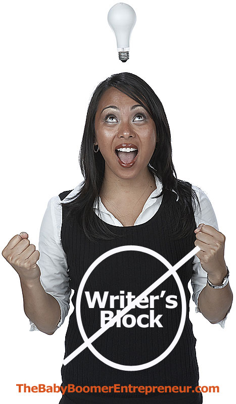 Solutions for Writer's Block when blogging