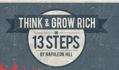 Napoleon Hill's Think and Grow Rich Summarized in 13 Steps