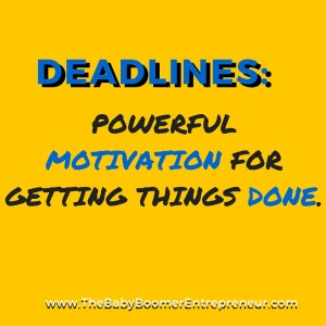 Deadlines - motivation