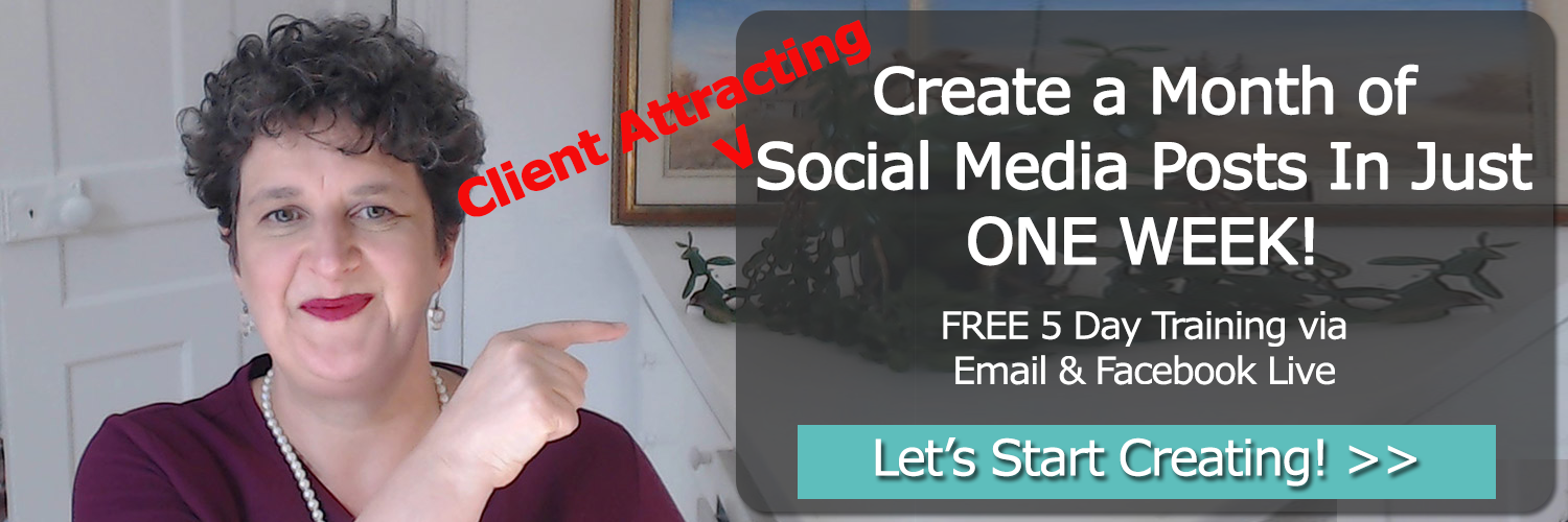 Create a Month of Social Media Posts In Just ONE WEEK!