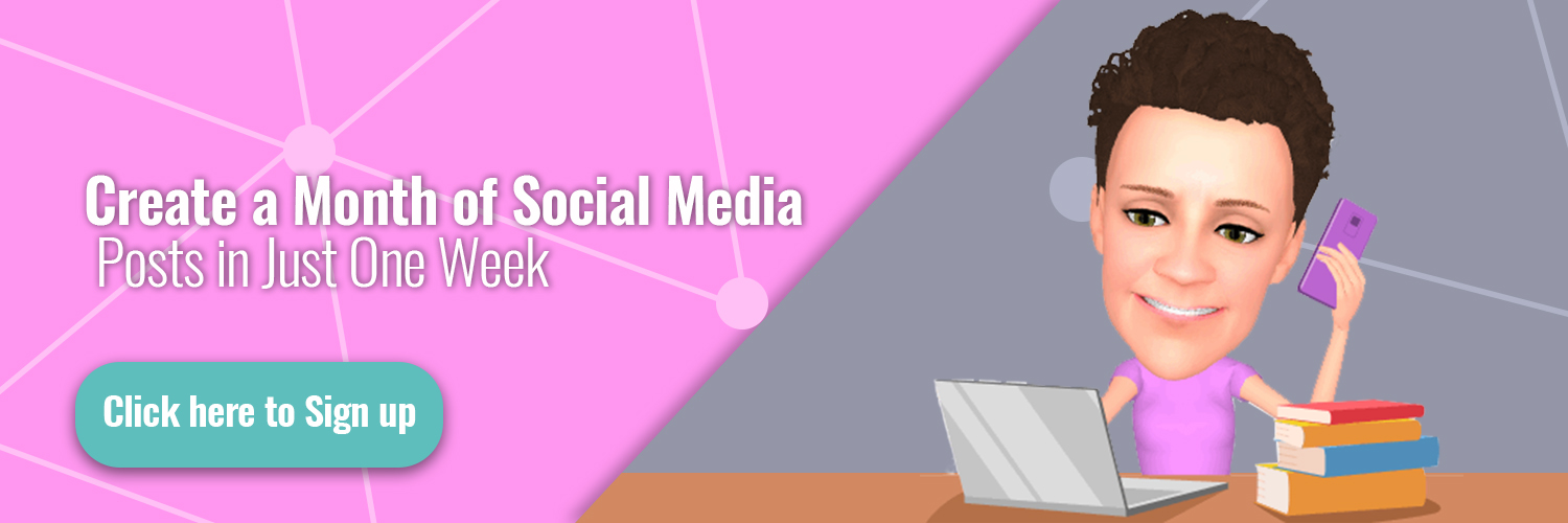 Create a Month of Social Media Posts In Just One Week