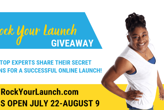 Rock Your Launch Giveaway